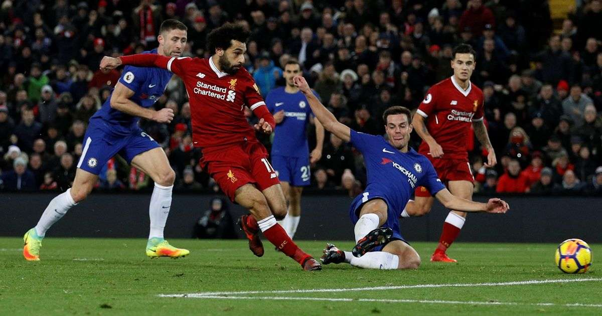 Liverpool vừa có trận hòa Chelsea