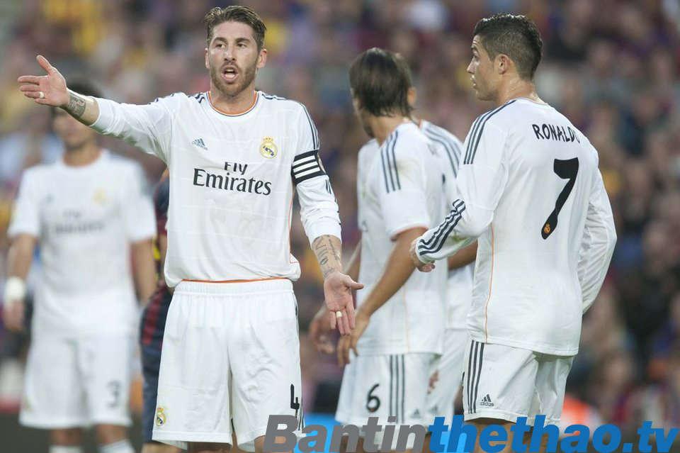 Căng thẳng đang được đẩy lên cao trong mối quan hệ giữa Ronaldo và Ramos