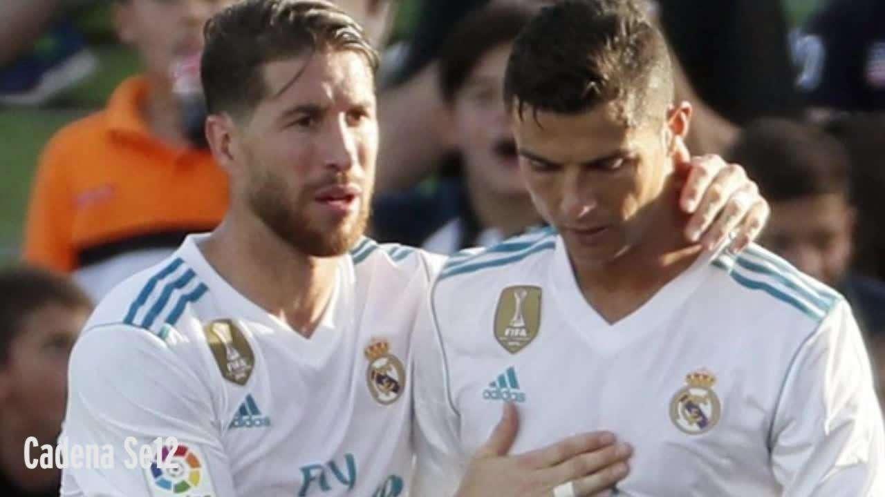 Ronaldo và Ramos không còn thân thiết như xưa nữa