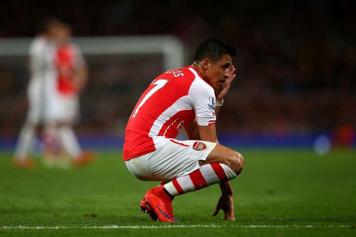 Eboue nói rằng Sanchez bị căng thẳng khi anh không được rời sân Emirates