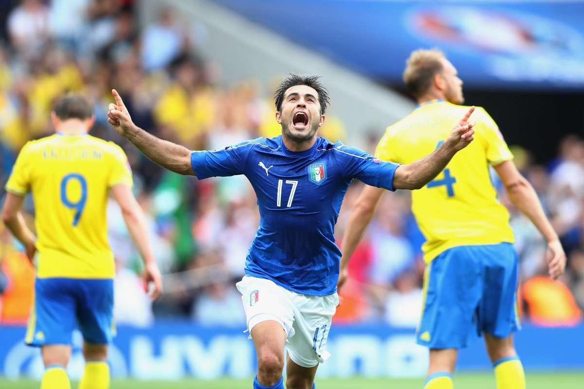 Thụy ĐIển vs Ý