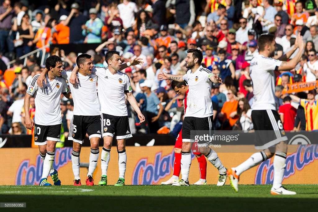 Valencia đang lột xác mạnh mẽ trong mùa giải năm nay