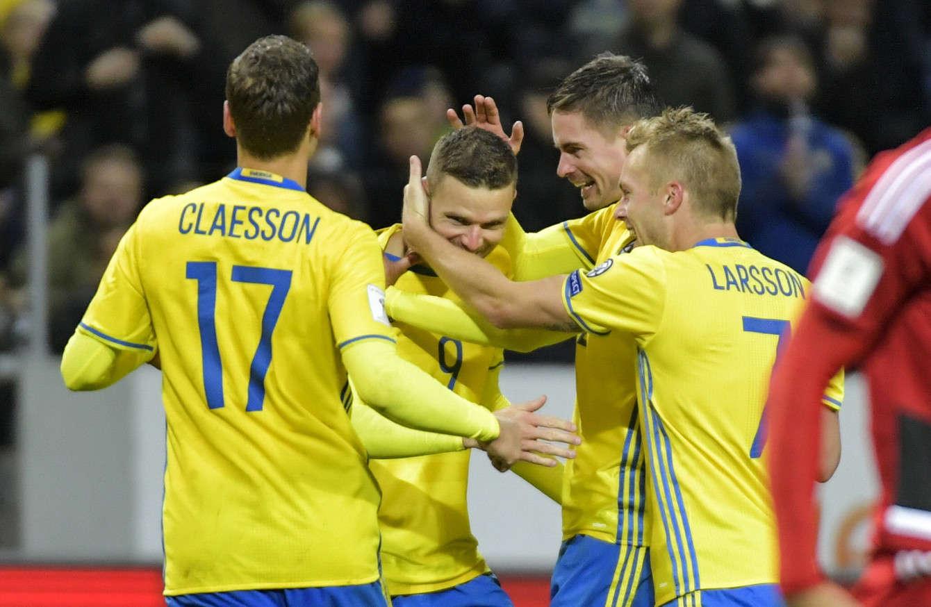 Thụy Điển đang có rất nhiều lợi thế để có mặt ở Nga năm sau