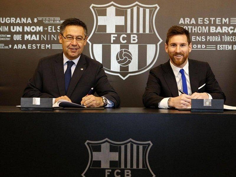 Với điều khoản phá vỡ hợp đồng lên tới 700 triệu euro, Barca khiến mọi đối thủ phải tránh xa Messi
