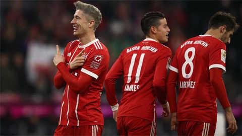 RB Leipzig bị cầm chân, Bayern vượt lên mạnh mẽ