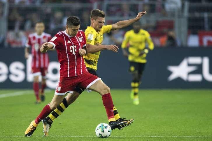 Bayern đang có phong độ hoàn toàn vượt trội so với Dortmund