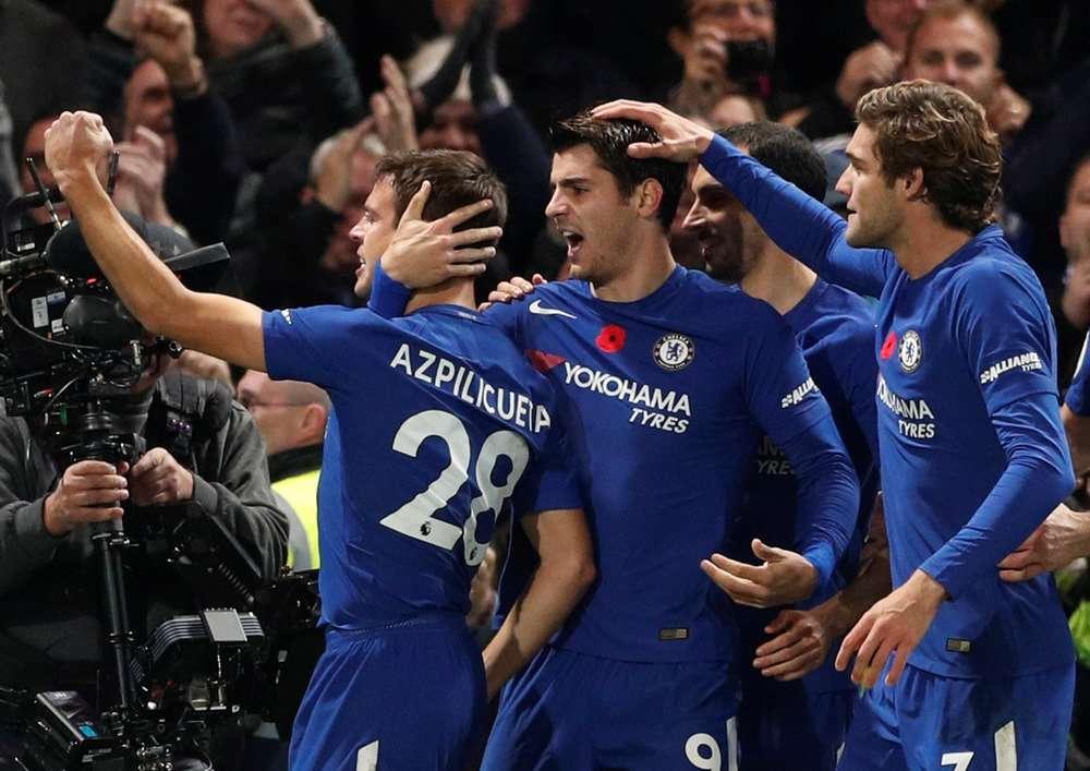 Chelsea đang có phong độ tốt