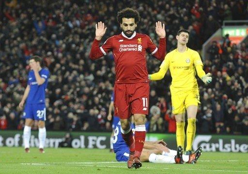 Salah tiếp tục dẫn đầu danh sách Vua phá lưới Premier League