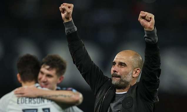 Guardiola vui ngất với chiến thắng trước Napoli