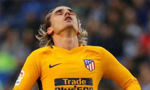 Barca nhắm mua Griezmann, cạnh tranh cùng MU