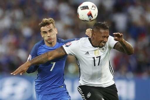 Pháp đã loại Đức ở Euro 2016
