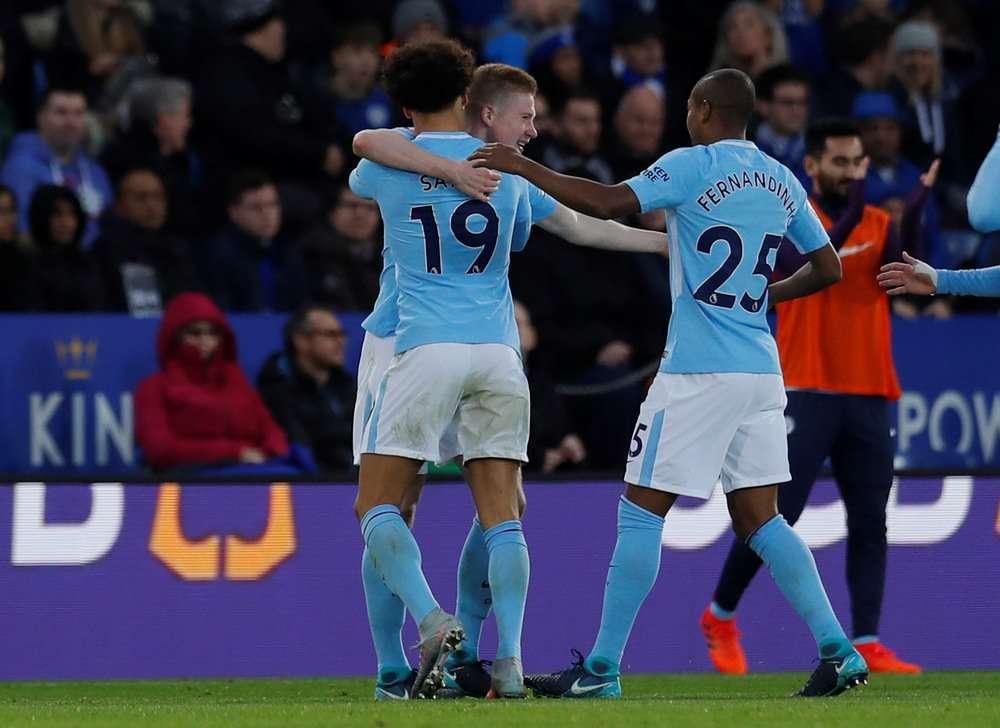 Man City đã thắng 10 vòng đấu gần đây ở Premier League