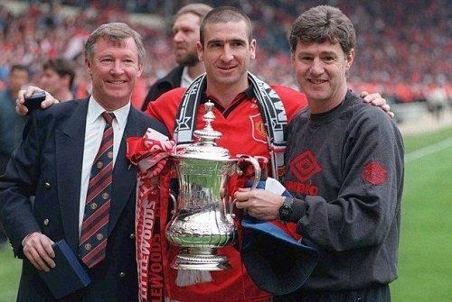 Cantona từng đoạt nhiều vinh quang cùng Man Utd.