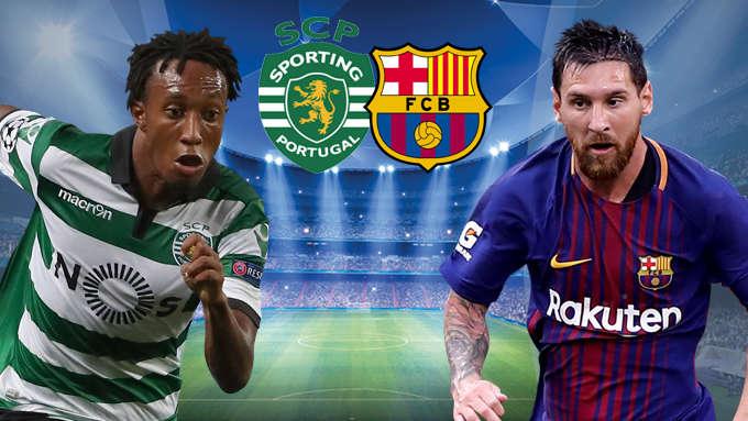 Barca vs Sporting đêm nay 6/12/2017
