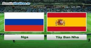 Link Sopcast, link xem trực tiếp Nga vs Tây Ban Nha đêm nay 15/11/2017 Giao hữu quốc tế
