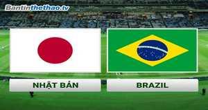 Link Sopcast, link xem trực tiếp Nhật Bản vs Brazil hôm nay 10/11/2017 Giao hữu quốc tế
