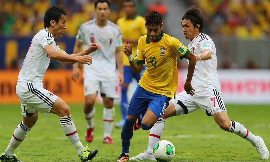Nhật Bản vs Brazil hôm nay 10/11/2017 Giao hữu quốc tế