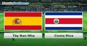 Link Sopcast, link xem trực tiếp Tây Ban Nha vs Costa Rica đêm nay 12/11/2017 Giao hữu quốc tế