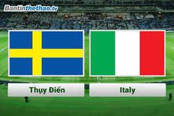 Link Sopcast, link xem trực tiếp Thụy Điển vs Ý hôm nay 11/11/2017 vòng loại World Cup