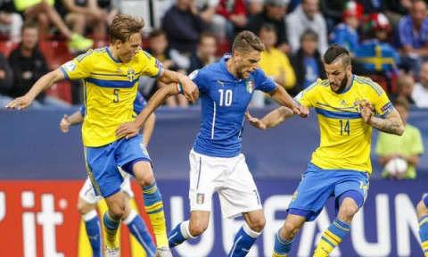 Thụy Điển vs Ý hôm nay 11/11/2017 vòng loại World Cup
