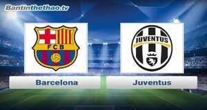 Link xem trực tiếp, link sopcast Barca vs Juventus đêm nay 23/11/2017 Champions League