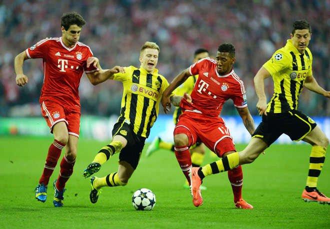 Bayern vs Dortmund đêm nay 5/11/2017 vô địch Bundesliga