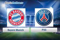 Link xem trực tiếp, link sopcast Bayern vs PSG đêm nay 6/12/2017 Champions League