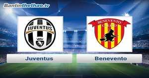 Link xem trực tiếp, link sopcast Juventus vs Benevento tối nay 5/11/2017 VĐQG Italia Ý - Serie A
