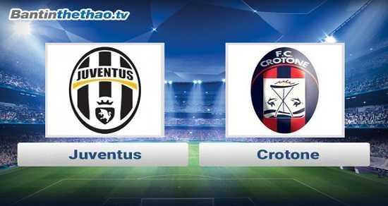 Link xem trực tiếp, link sopcast Juventus vs Crotone đêm nay 27/11/2017 VĐQG Italia Ý - Serie A