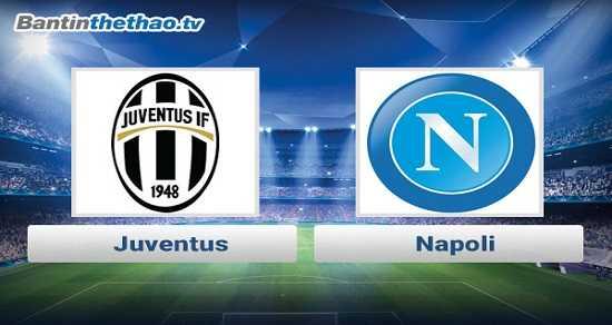 Link xem trực tiếp, link sopcast Juventus vs Napoli đêm nay 2/12/2017 VĐQG Italia Ý - Serie A