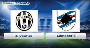 Link xem trực tiếp, link sopcast Juventus vs Sampdoria đêm nay 19/11/2017 VĐQG Italia Ý - Serie A