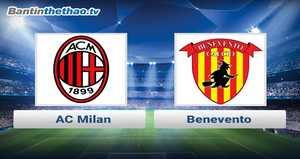 Link xem trực tiếp, link sopcast Milan vs Benevento hôm nay 3/12/2017 VĐQG Italia Ý - Serie A
