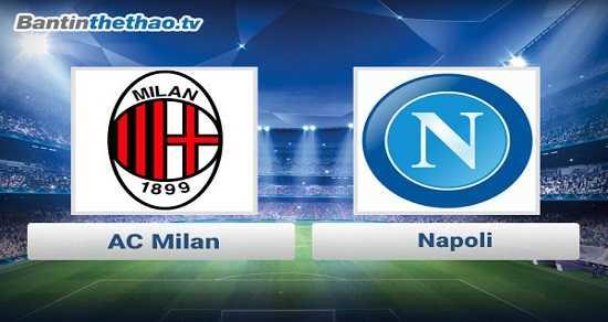 Link xem trực tiếp, link sopcast Milan vs Napoli đêm nay 19/11/2017 VĐQG Italia Ý - Serie A