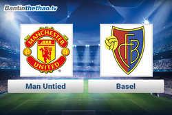 Link xem trực tiếp, link sopcast MU vs Basel đêm nay 23/11/2017 Champions League