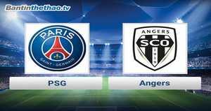 Link xem trực tiếp, link sopcast PSG vs Angers đêm nay 4/11/2017 giải vô địch Ligue 1