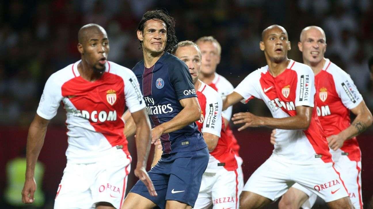 PSG vs Monaco đêm nay 27/11/2017 giải vô địch Ligue 1