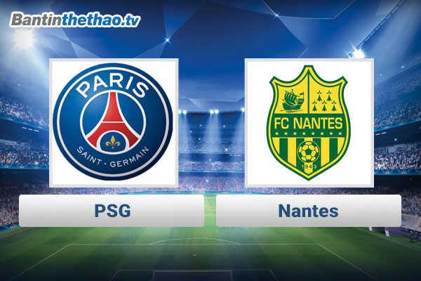 Link xem trực tiếp, link sopcast PSG vs Nantes đêm nay 18/11/2017 giải vô địch Ligue 1