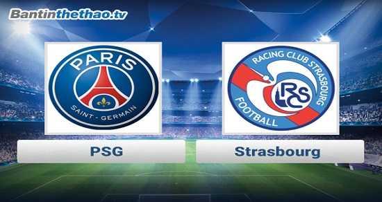 Link xem trực tiếp, link sopcast PSG vs Strasbourg đêm nay 2/12/2017 giải vô địch Ligue 1