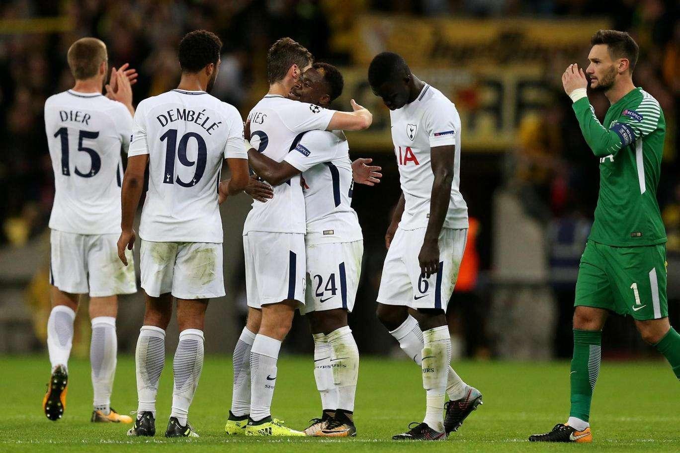 Tottenham vs Dortmund đêm nay 22/11/2017 Champions League