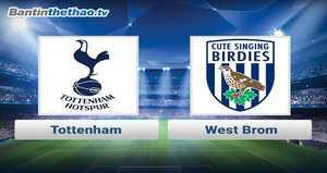 Link xem trực tiếp, link sopcast Tottenham vs West Brom đêm nay 25/11/2017 Ngoại Hạng Anh