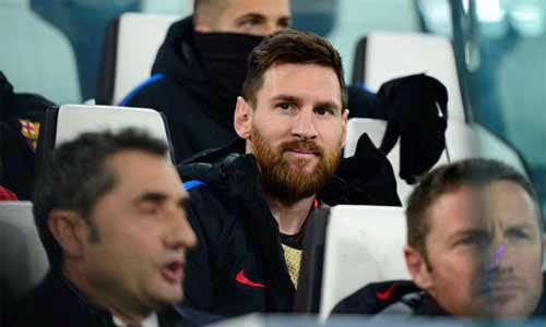 Messi giải thích lý do ngồi dự bị trong trận Barca gặp Juve ở Champions League