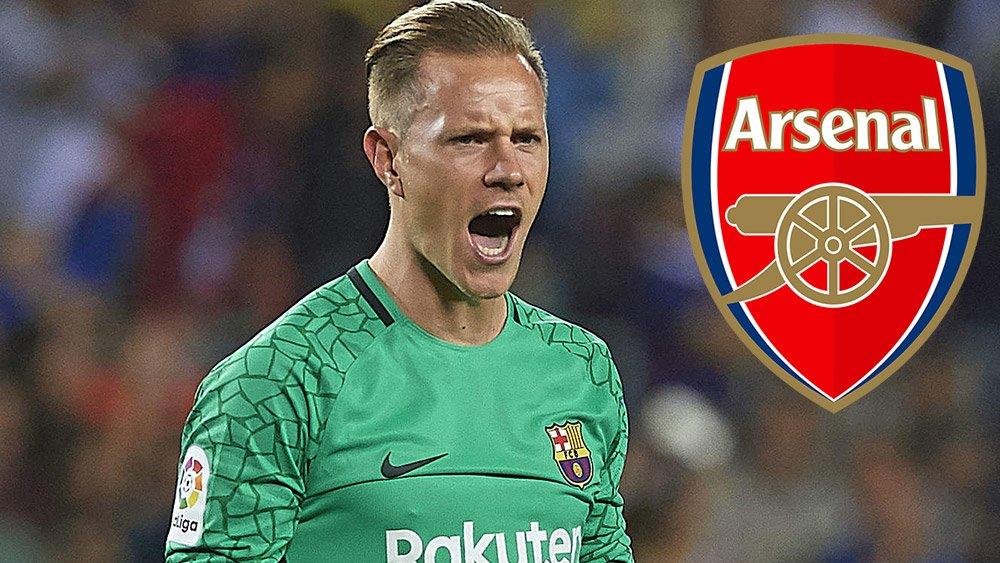Arsenal có tham vọng sở hữu Ter Stegen