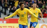 Neymar nổ súng, Brazil đè bẹp Nhật Bản