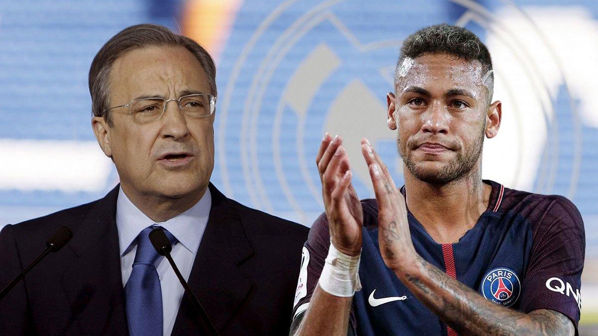 Neymar là trung tâm siêu dự án của Chủ tịch Perez với Real Madrid