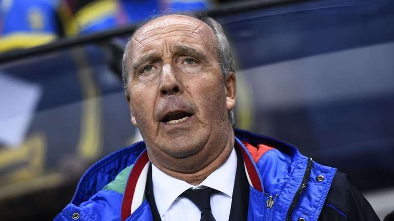 Gian Piero Ventura đang chịu sức ép rất lớn