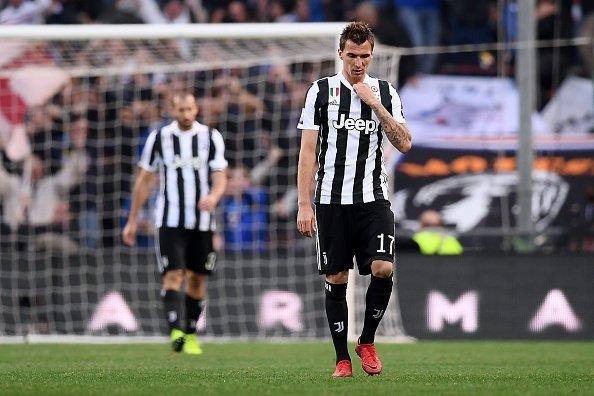 Nỗi thất vọng của Mandzukic cũng như toàn thể CLB Juve.