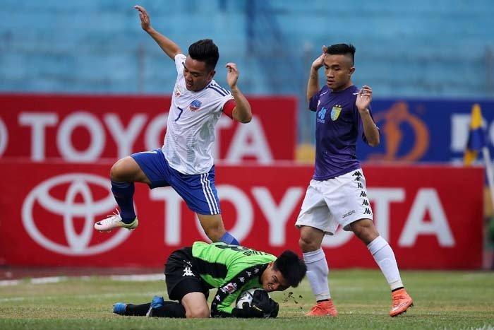 Trận đấu giữa Hà Nội và Quảng Nam hứa hẹn rất kịch tính