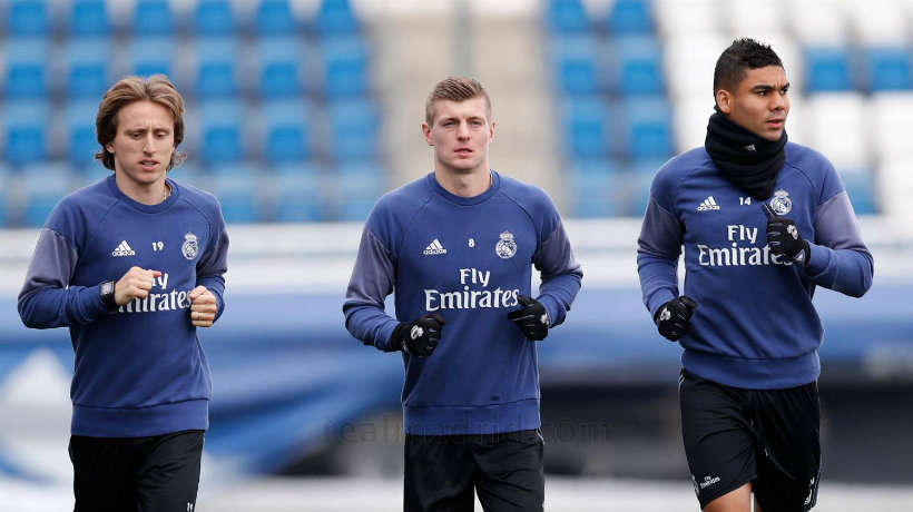 ...Mà vấn đề của Real nằm ở bộ ba Modric, Casemiro và Kroos