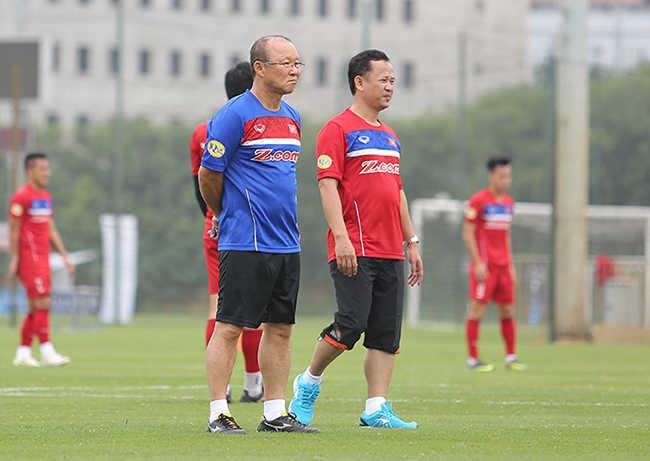 HLV Park Hang Seo gọi ồ ạt cầu thủ trẻ vào U23 Việt Nam