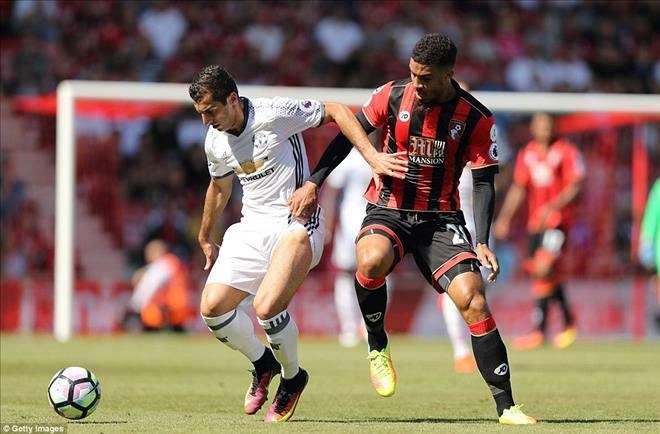 Man United phải gượng dậy trước Bournemouth